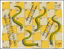 free snakes and ladders game